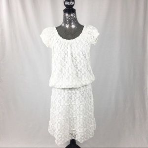 Max Edition Blouse and Skirt White Set